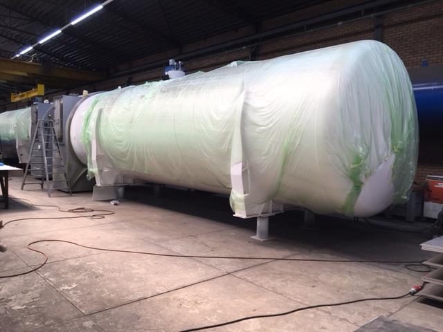 LNG-tanks bijna klaar voor transport