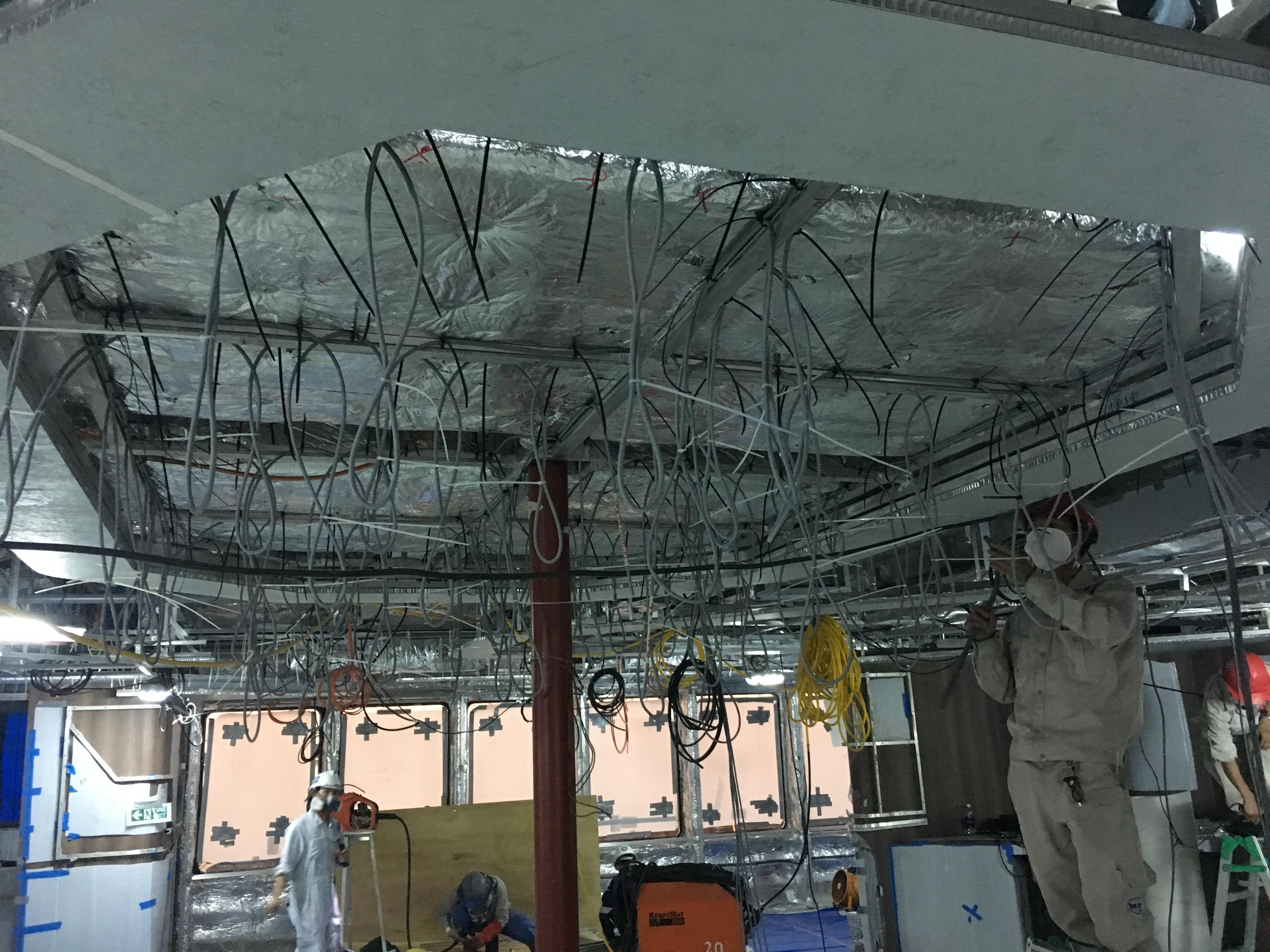 Plafond horecaplein