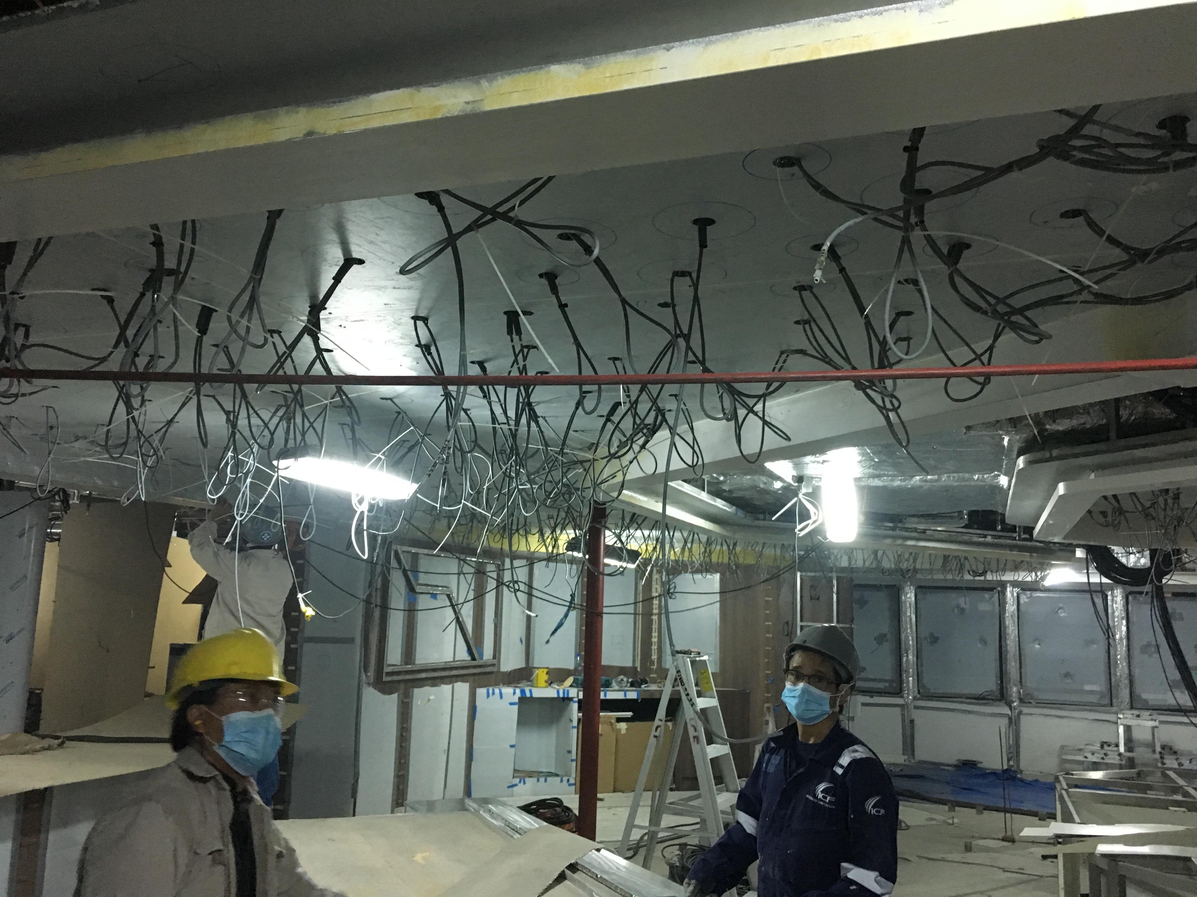 Kabels horecaverlichting