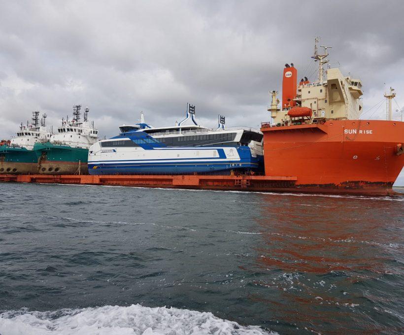 Nieuwe schepen Doeksen arriveren woensdagavond in Harlingen