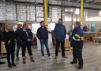 Medewerkers Doeksen maken kennis met nieuwe schepen