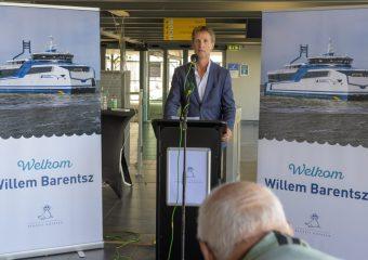 Presentatie Willem Barentsz aan pers en genodigden