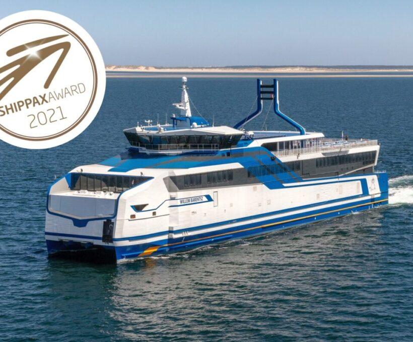 Willem Barentsz wint internationale Shippax Technology and Design Award 2021